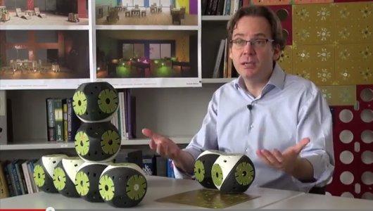 Cubos robóticos ensamblables