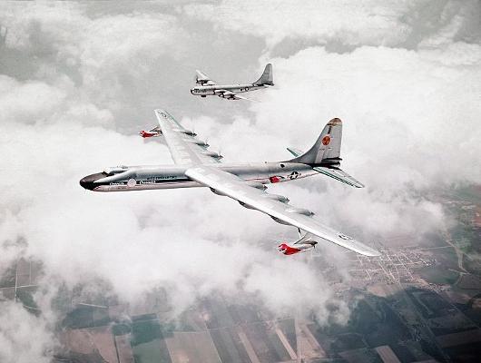 Avión prototipo nuclear NB36H