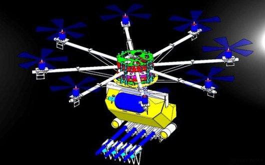 Diseño dron Skunk Riot