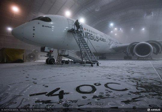Pruebas del A350 XWB