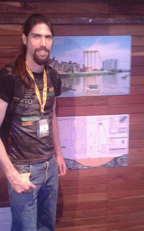 Estudiante detrás del proyecto Agua Viva